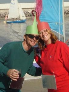 Marc and Kate inn teletubbies costumes.