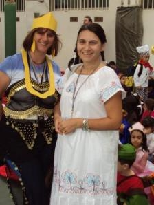 Amanda and Cleopatra Bookweek 2010
