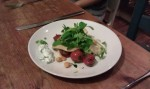 Plate of salad.