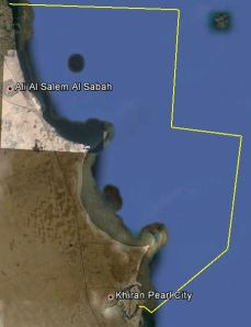 Google earth image fahaheel to khiran