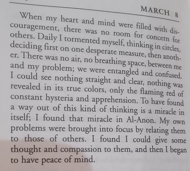AlAnon March 8